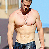 Chris Hemsworth photo possibly with a hunk and a six pack called Chris