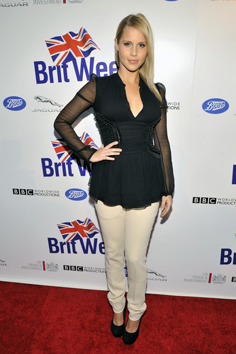 Claire at Official Launch of BritWeek (April 24th, 2012)