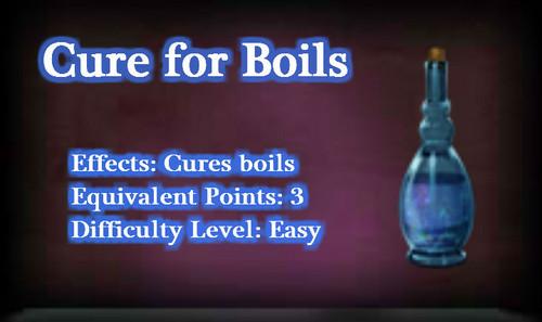 Cure for Boils potion