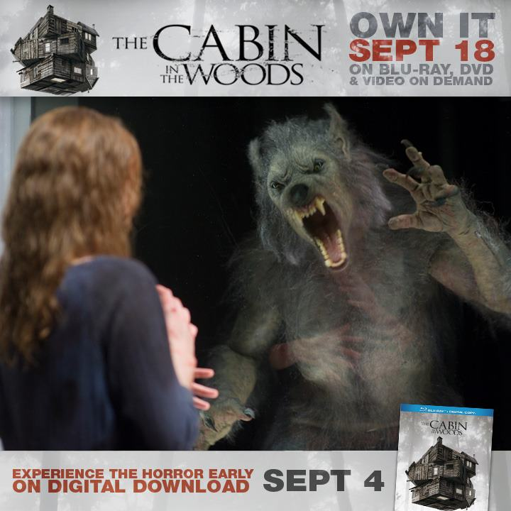 DVD & Blu Ray Promo - The Cabin in the Woods Photo ...
