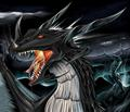 Dark dragon wallpaper