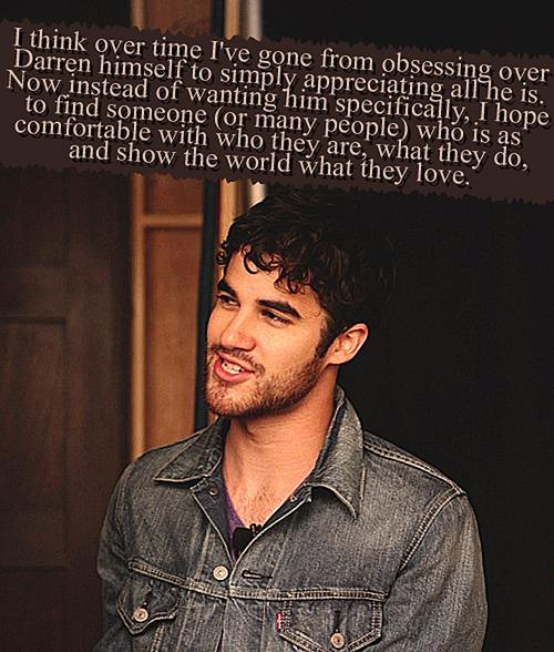 Darren Criss Confessions