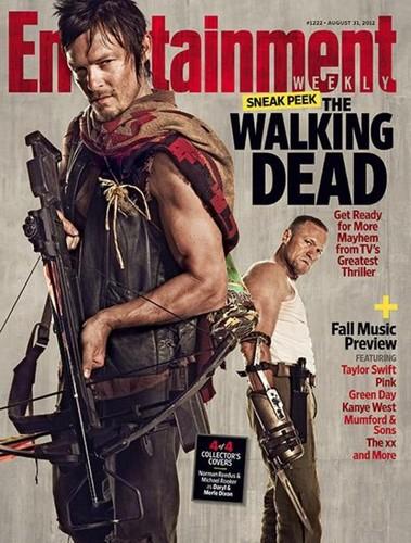 Daryl and Merle Dixon-EW Magazine Cover