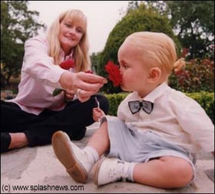 Debbie Rowe & Prince Jackson