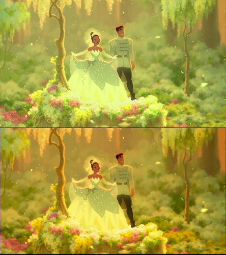 Disney Princess - Blu-Ray vs. DVD Quality