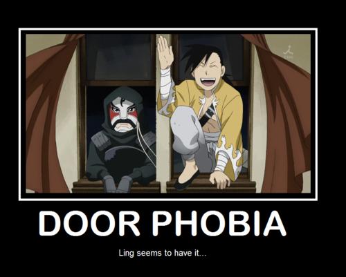 Door phobia