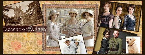Downton Abbey kertas dinding titled Downton Abbey Facebook timeline cover