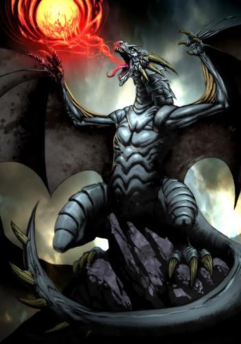 Dragon achtergrond