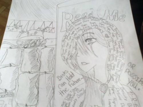 Dream Diary karatasi la kupamba ukuta titled Drawing~!