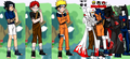 Dress Up Naruto and Friends - Dressup24h