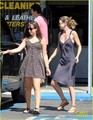 Ellen out and about  in Los Feliz, Calif. - greys-anatomy photo