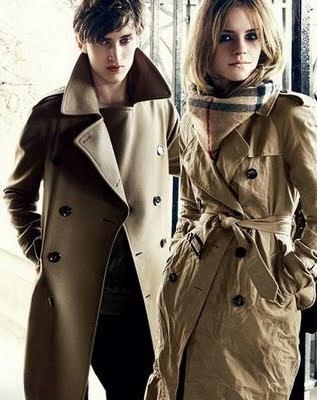 Emma Watson For Burberry