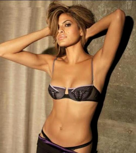 Eva Mendes wallpaper probably with a bikini, a brassiere, and attractiveness titled Eva Fan Art