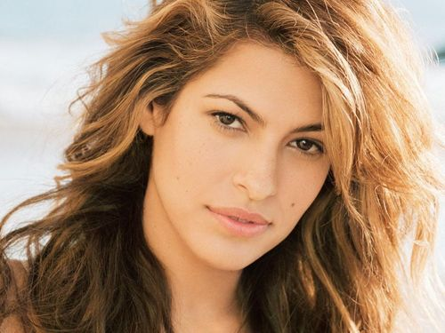 Eva Mendes wallpaper containing a portrait and attractiveness entitled Eva Fan Art