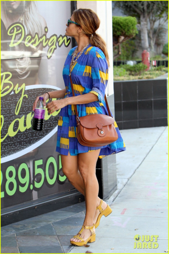 Eva - Out and about in West Hollywood - August 22, 2012