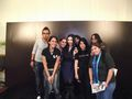 Evanescence - Meet &amp; Greet (Ciudad de Mxico, 2012) - evanescence photo