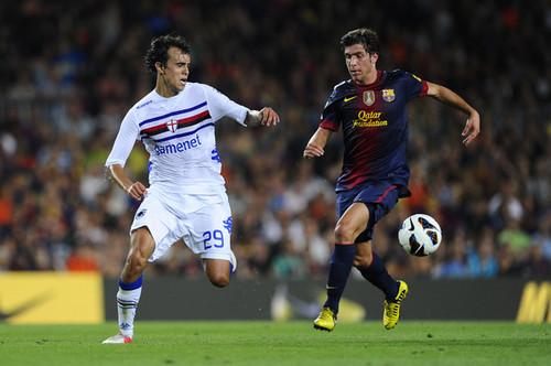 FC Barcelona - Sampdoria (0-1)