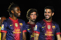 FC Barcelona v Sampdoria Pre Season Friendly - cesc-fabregas photo