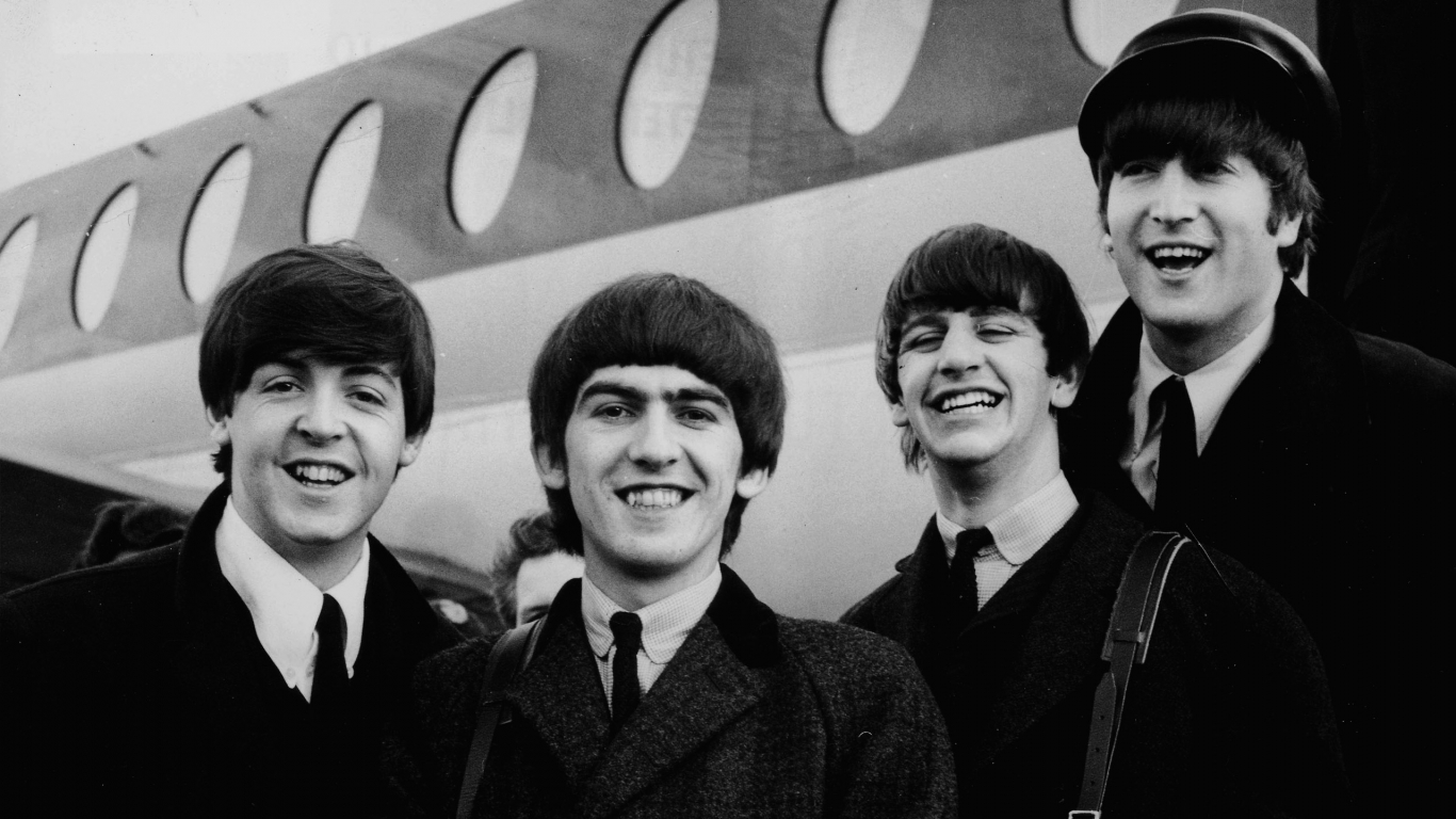 The beatles feb 7, 1964: just arrived!