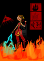 Fire nation Courtney - total-drama-island fan art