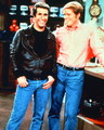 Fonzie and Richie  - arthur-fonzarelli photo