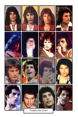 Freddie's hair