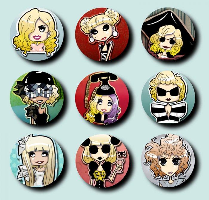 GaGa badges