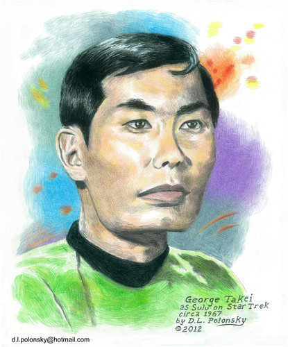 George Takei as Sulu on bintang Trek Circa 1967
