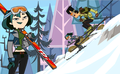 Going skiing - total-drama-island fan art