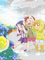 Gokudera, Yamamoto, and Tsuna