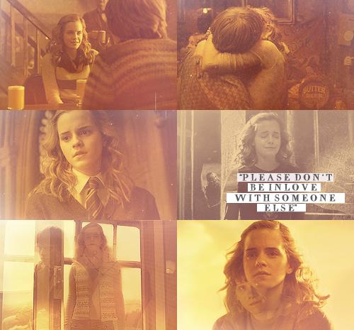 Ron & Hermione (+ Lavender)