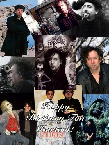 Tim burton achtergrond with anime called Happy Birthday!