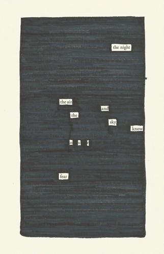 Harry Potter blackout poem
