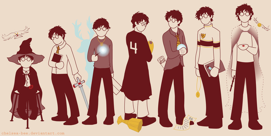 Harry Through The Years Harrypotter