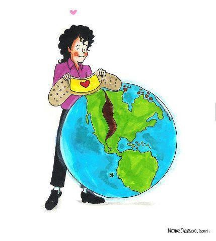 Heal the world with L.O.V.E