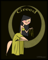 Heather: greed - total-drama-island fan art