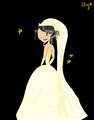 Heather wedding dress - total-drama-island fan art