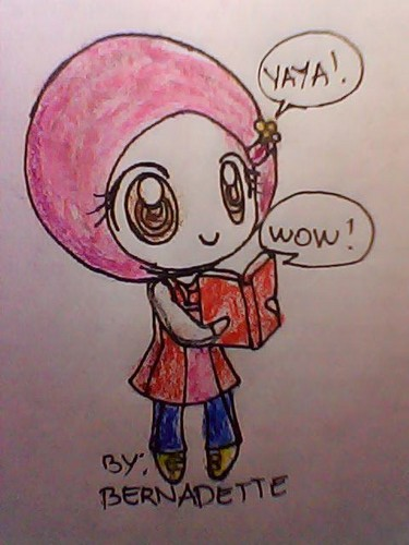 Here is my 粉丝 Art of Yaya in Chibi..... pls. like it..