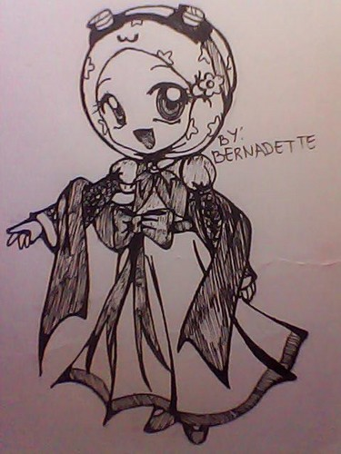 Here is my 粉丝 Art of Yaya in Dress...... pls. like it..