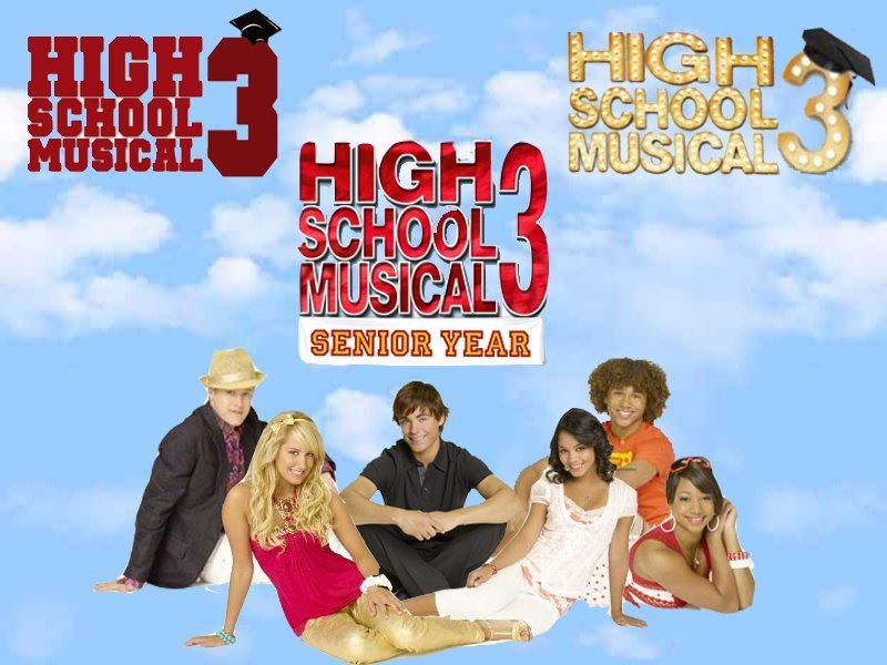 High school graduation high school musical 3 senior year