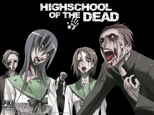 Highschool of the dead fond d'écran
