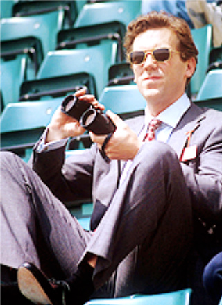 """Hugh Laurie -Leo Hopkins in """"All or Nothing at All"""" (1993)"""