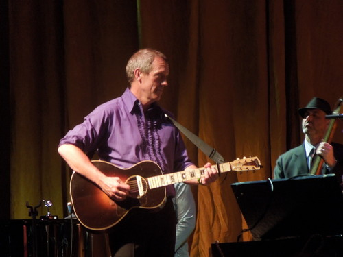 Hugh Laurie- konsiyerto at Park West in Chicago 21.08.2012