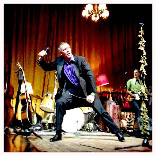 Hugh Laurie- концерт at Park West in Chicago 21.08.2012