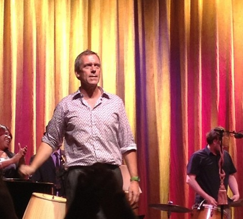 Hugh Laurie in Columbus - 26.08.2012