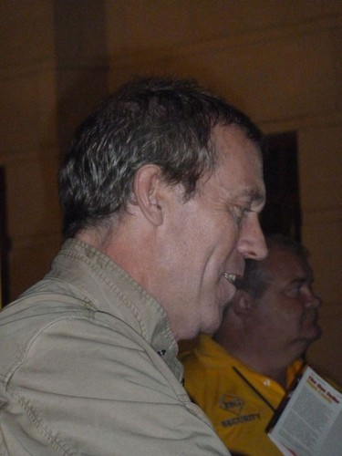 Hugh laurie-after concert at the Palladium Center for the Performing Arts (Carmel) 22.08.2012
