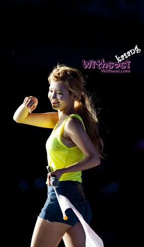 Hyoyeon @ SMTOWN Live World Tour in Seoul