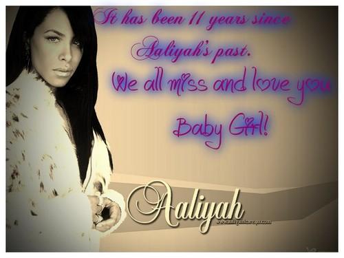 For aaliyah
