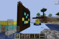 I-pad is happy! - minecraft photo
