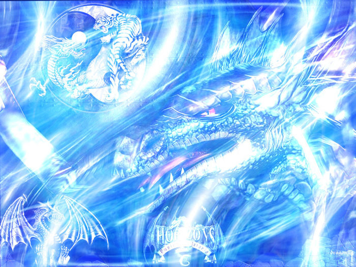 Griffins And Dragons Images Ice Wallpaper